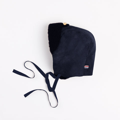 Fur Bonnet Navy