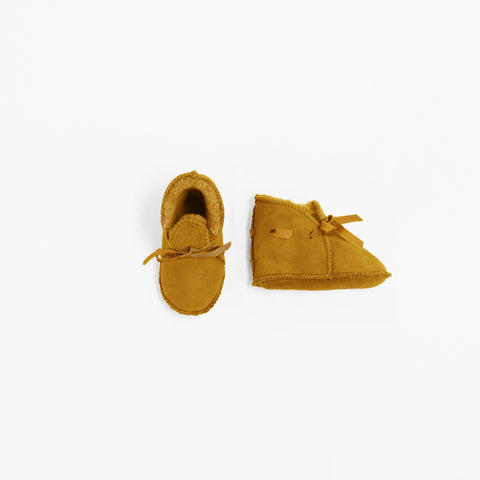 Toasties Paris Baby Winter Finken Booties Havana Gelb bei Yay Kids