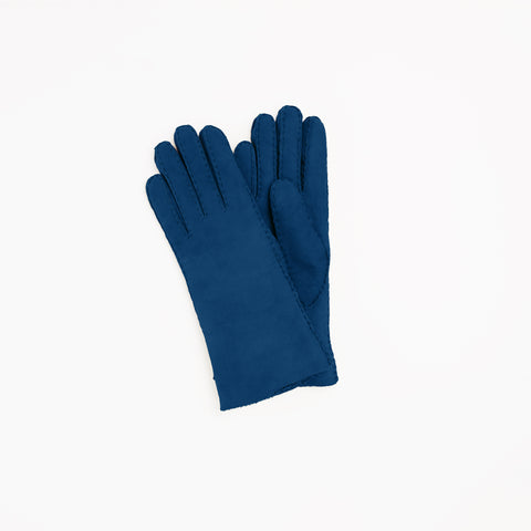Toasties Paris Lammfell Handschuhe in Blau bei Yay Kids