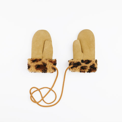 Toasties Paris Kinder Lammfell Handschuhe Leo bei Yay Kids