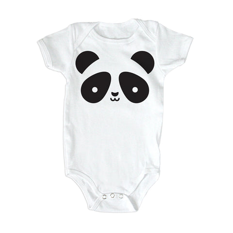 Whistle & Flute Baby Body Panda Bio-Baumwolle bei Yay Kids