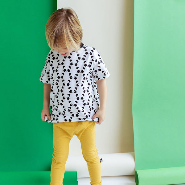 Whistle & Flute Kinder T-Shirt Panda Allover Bio-Baumwolle Junge bei Yay Kid...