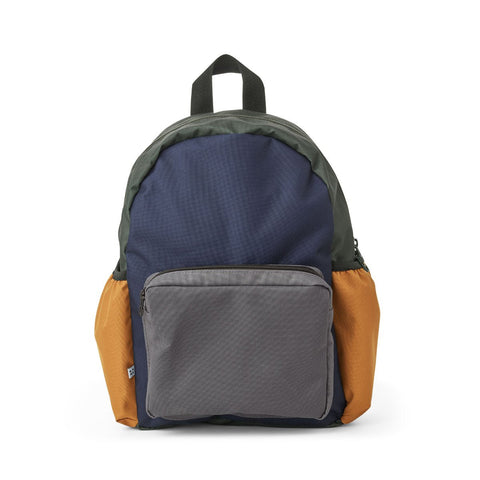 Liewood Kinder Rucksack Wally Navy Mix bei Yay Kids