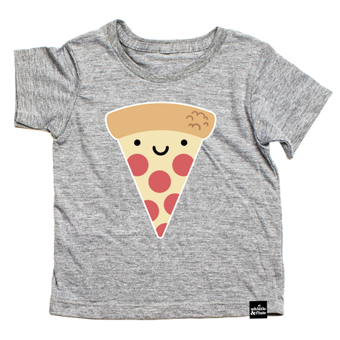 Organic T-Shirt Kawaii Pizza
