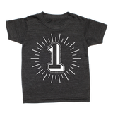 Whistle & Flute Kinder T-Shirt Milestone Numbers bei Yay Kids