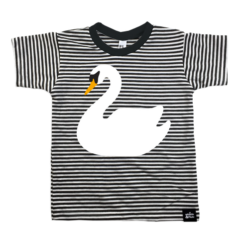 T-Shirt Swan Striped