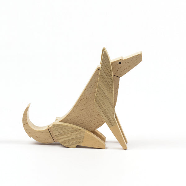 Archabits Esnaf Magnetisches Holzpuzzle Dingo bei Yay Kids