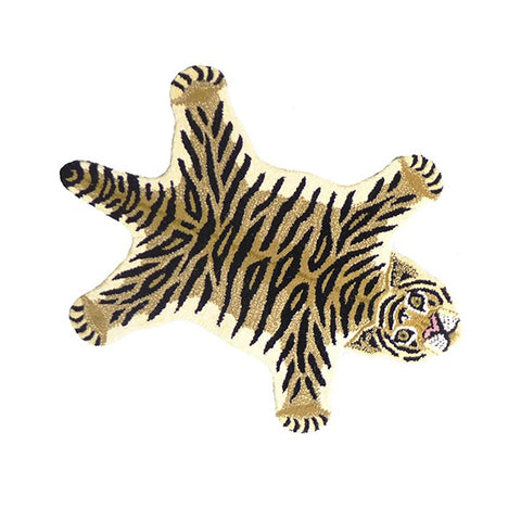 Doing Goods Drowsy Tiger Rug Small Deko Teppich klein bei Yay Kids