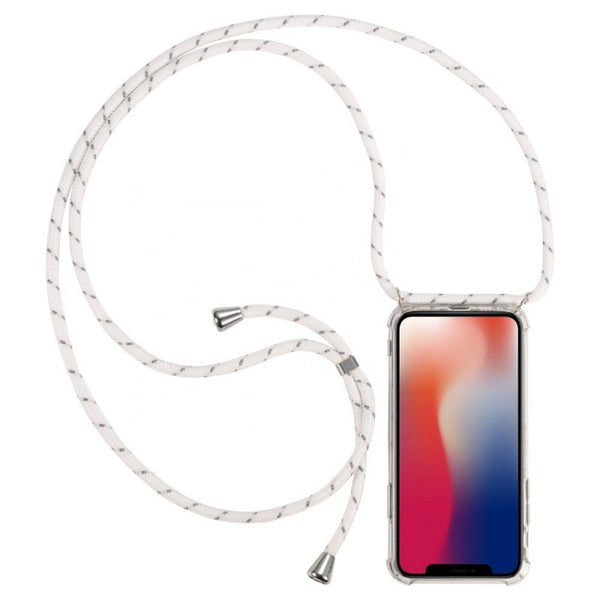 iPhone Necklace Handykette Weiss mit Muster bei Yay Kids