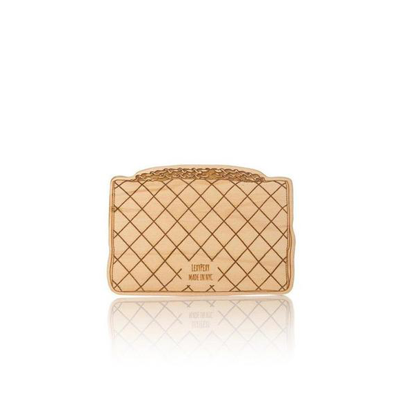 Lexypexy Baby Beissring aus Holz Chanel Bag bei Yay Kids