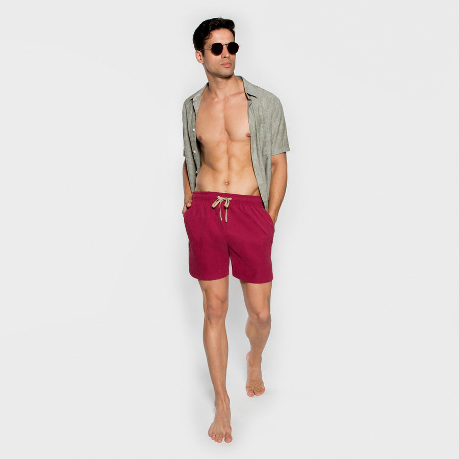 BENIBECA men swimwear - CRIMSON model 2