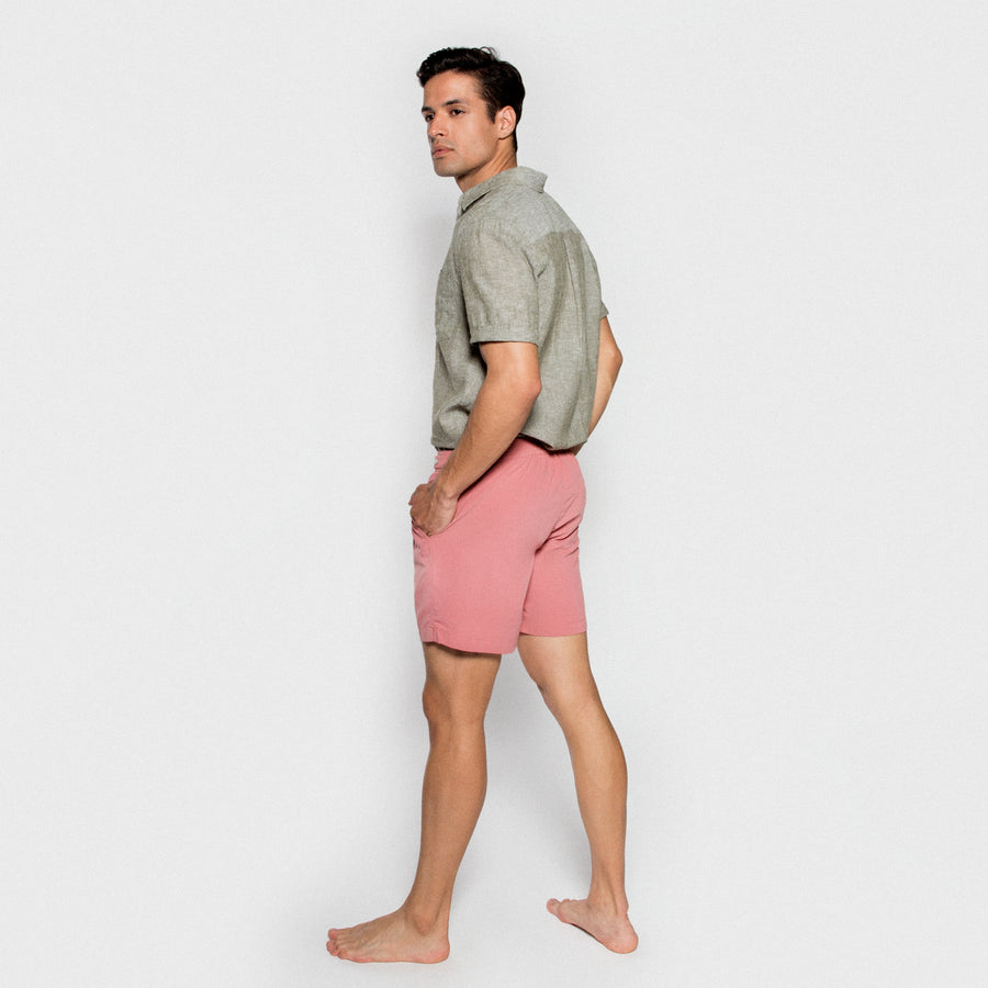 BENIBECA men swimwear - PINKPALE model 3