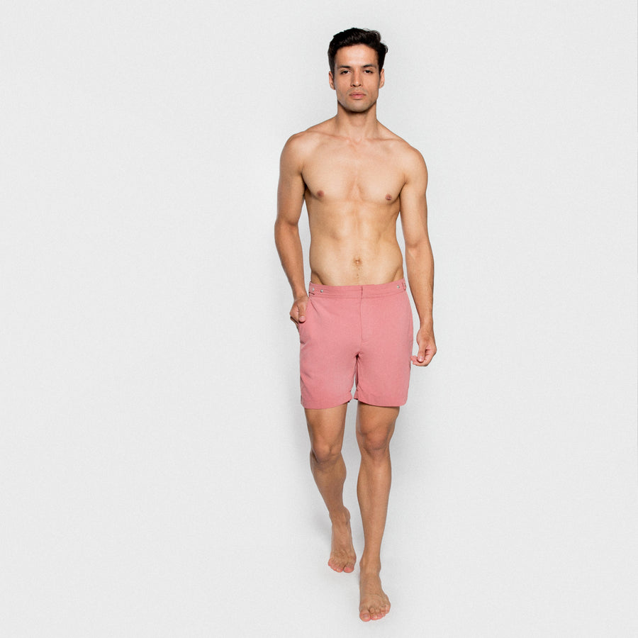 BENIBECA men swimwear - PINKPALE model 2