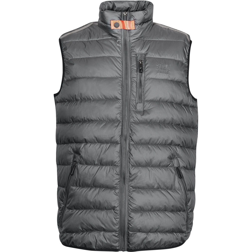 North 56°4 / Replika Jeans (Big & Tall) North 56°4 Vest Vest 0080 Dark Grey/Charcole