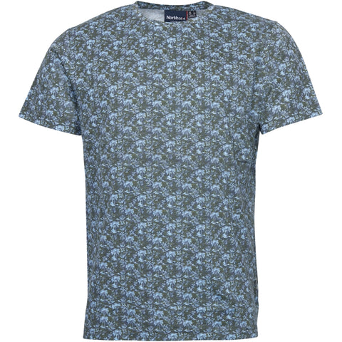 North 56°4 / Replika Jeans (Big & Tall) North 56°4 Allover printed T-shirt T-shirt 0930 Printed