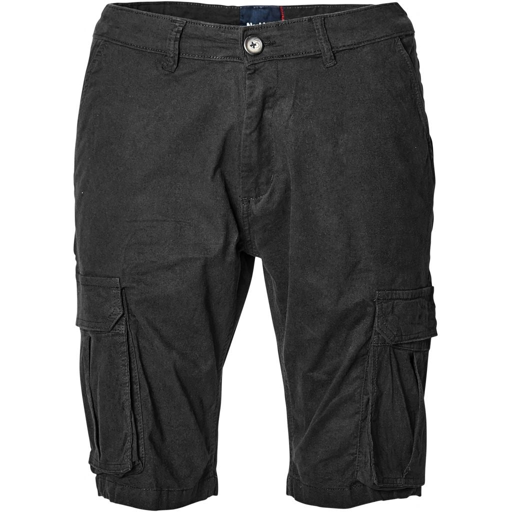 North 56°4 / Replika Jeans (Big & Tall) North 56°4 Cargo shorts TALL Shorts 0099 Black