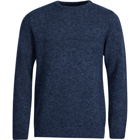 North 56°4 / Replika Jeans (Big & Tall) North 56°4 Crewneck knit GOTS Knit 0580 Navy Blue