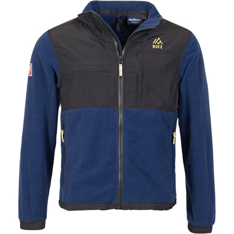 North 56°4 / Replika Jeans (Big & Tall) North 56°4 Fleece Jacket 0586 Deep Sea
