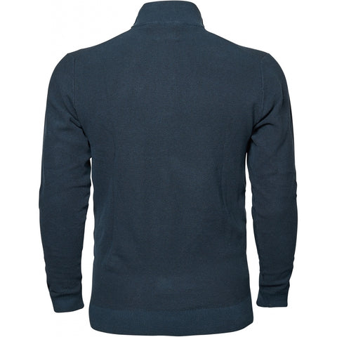 North 56°4 / Replika Jeans (Big & Tall) North 56°4 Half zip knit Knit 0580 Navy Blue