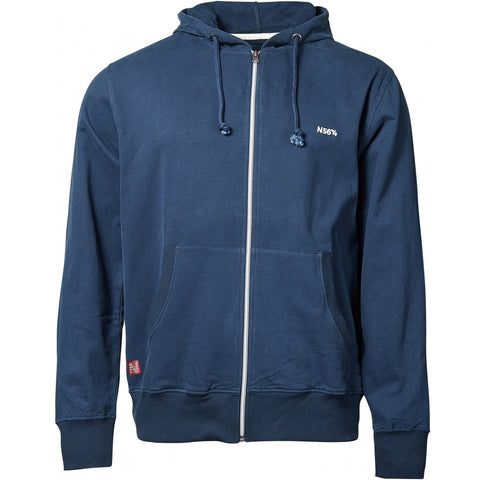 North 56°4 / Replika Jeans (Regular) North 56°4 Hoodie full zip Sweatshirt 0580 Navy Blue