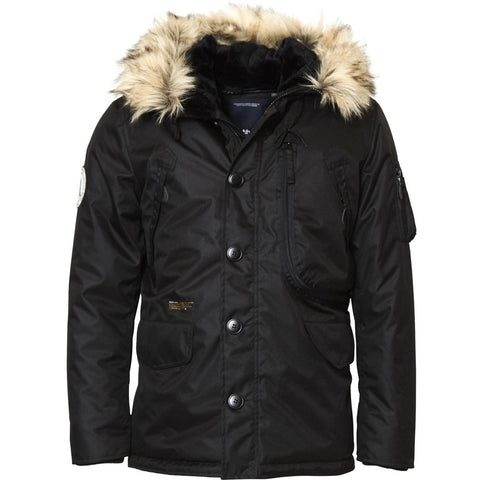 North 56°4 / Replika Jeans (Big & Tall) North 56°4 Parka Jacket 0099 Black