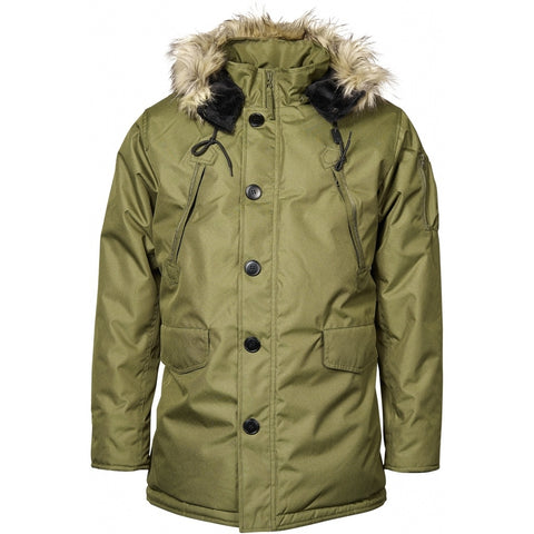 North 56°4 / Replika Jeans (Regular) North 56°4 Parka Jacket 0661 Winter Olive