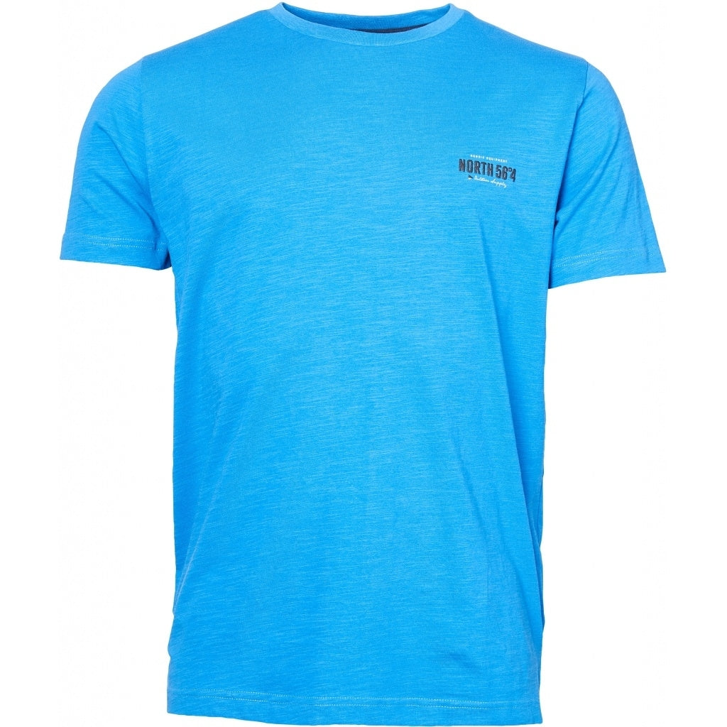 North 56°4 / Replika Jeans (Big & Tall) North 56°4  Printed t-shirt T-shirt 0540 Mid Blue