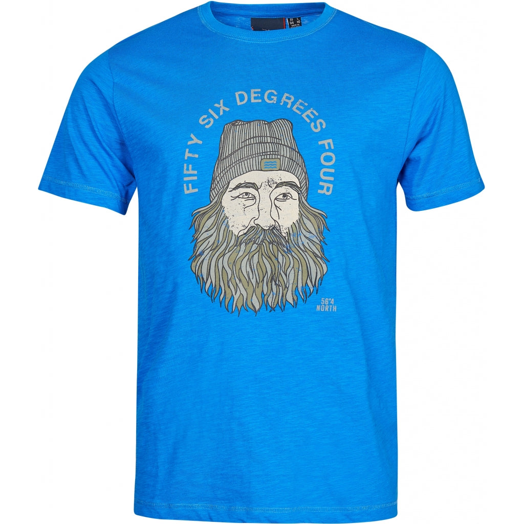 North 56°4 / Replika Jeans (Regular) North 56°4 Printed t-shirt T-shirt 0568 Victory blue