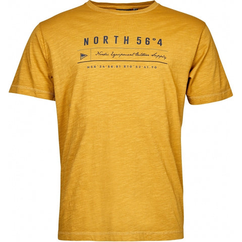 North 56°4 / Replika Jeans (Big & Tall) North 56°4 Printed t-shirt TALL T-shirt 0751 Corn