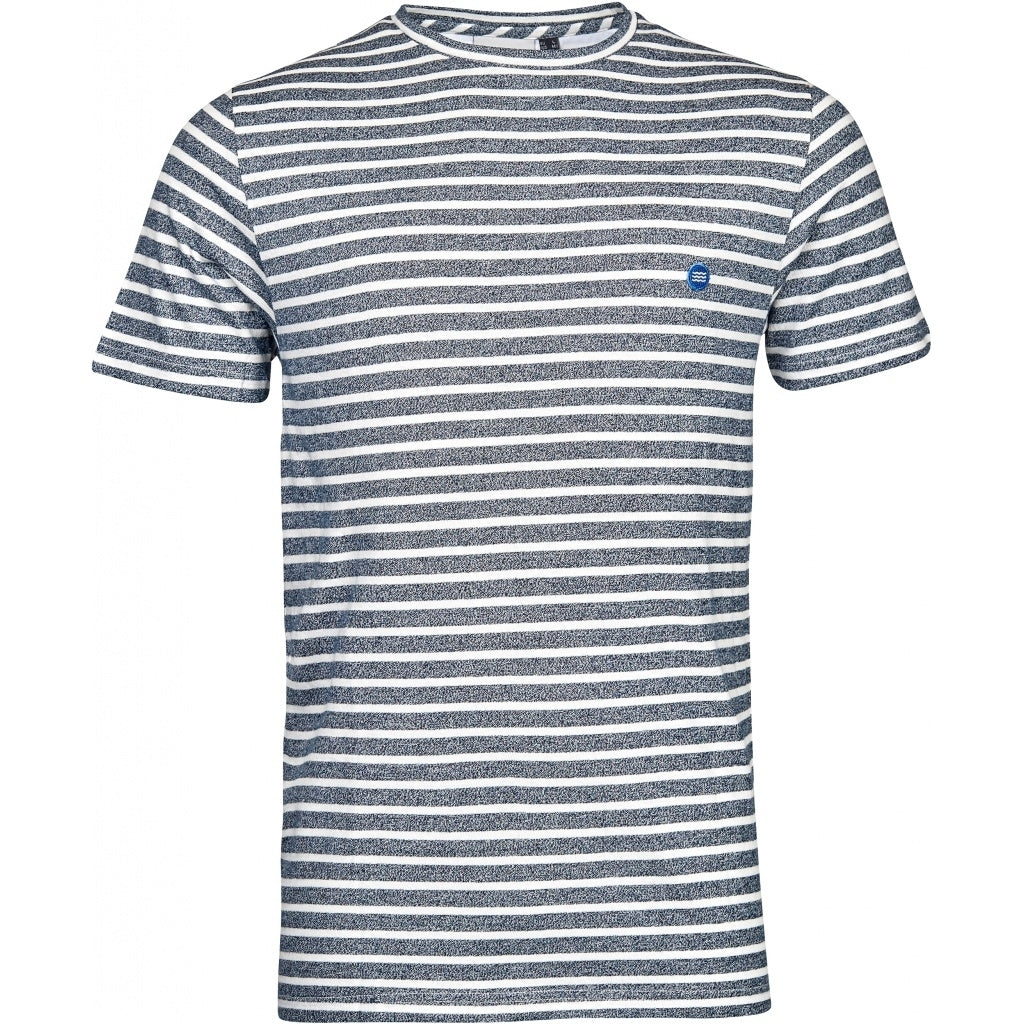 North 56°4 / Replika Jeans (Big & Tall) North 56°4 Sustainable striped tee T-shirt 0910 Striped