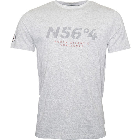 North 56°4 / Replika Jeans (Regular) North 56°4 T-shirt T-shirt 0050 Grey Melange