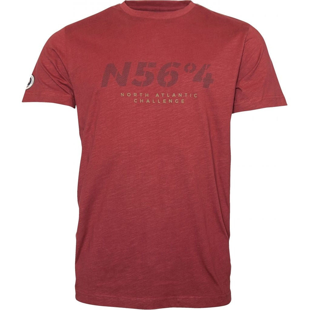 North 56°4 / Replika Jeans (Regular) North 56°4 T-shirt T-shirt 0360 Wine Red