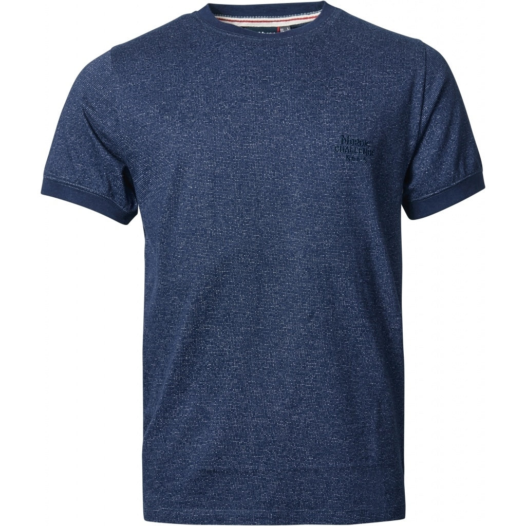North 56°4 / Replika Jeans (Regular) North 56°4 T-shirt pattern T-shirt 0580 Navy Blue