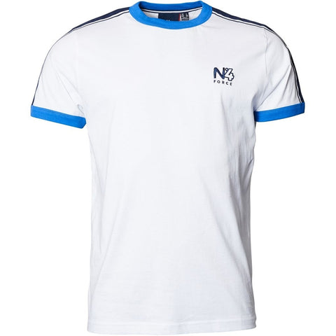 North 56°4 / Replika Jeans (Big & Tall) North 56°4 T-shirt sport style T-shirt 0000 White