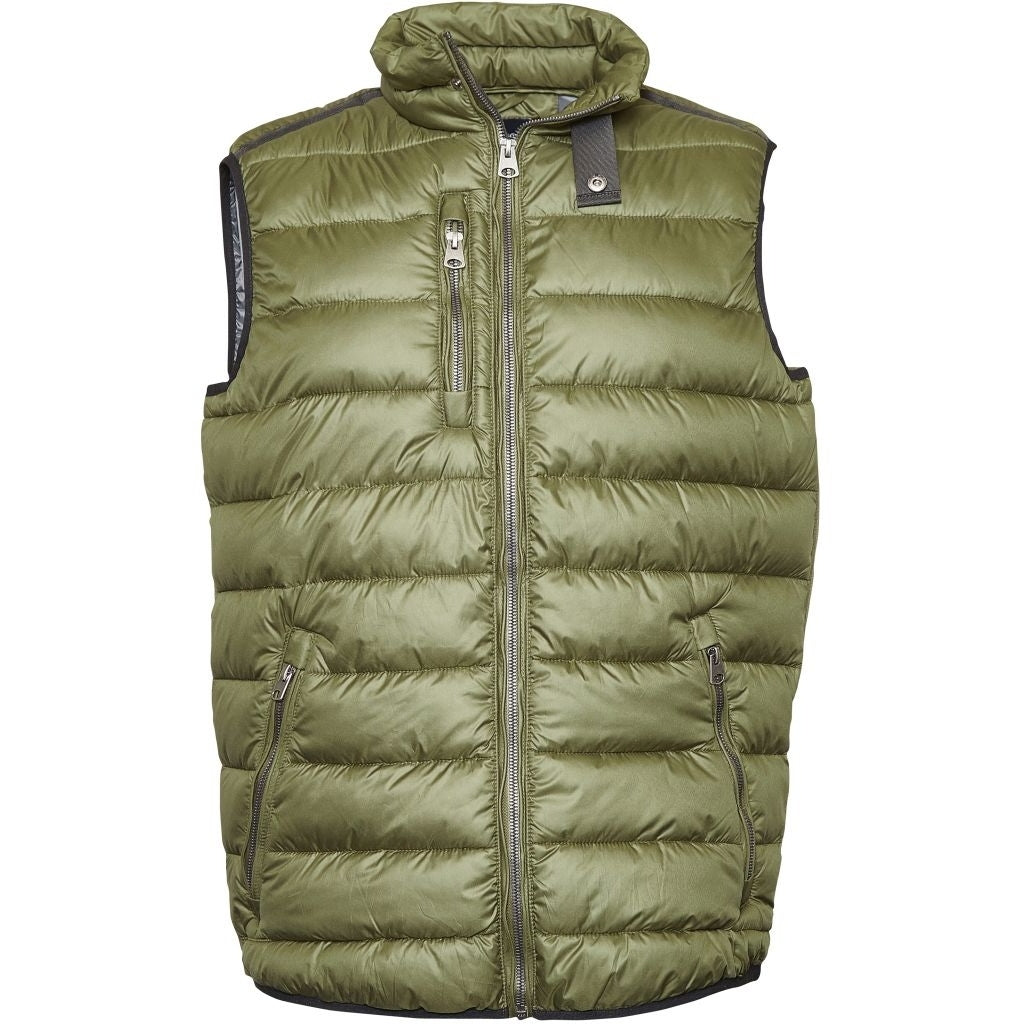 North 56°4 / Replika Jeans (Big & Tall) North 56°4 Vest Vest 0680 Dark Green