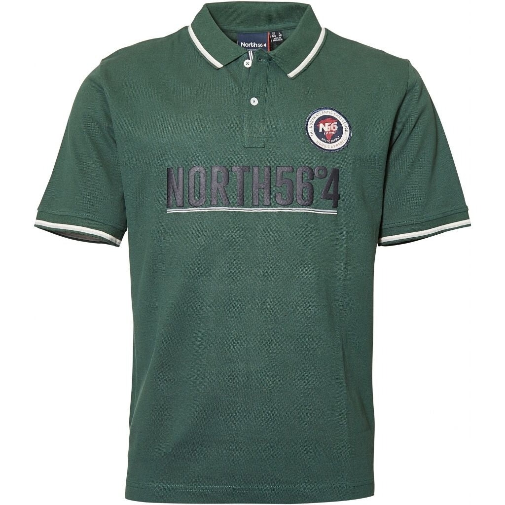North 56°4 / Replika Jeans (Regular) North 56°4 Polo S/S Polo SS 0680 Dark Green