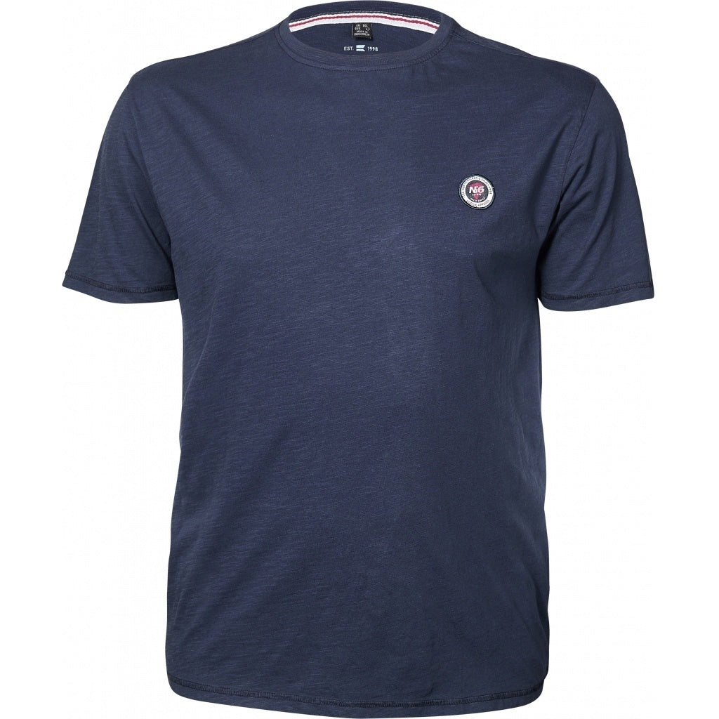 North 56°4 / Replika Jeans (Regular) North 56°4 T-shirt w/badge T-shirt 0580 Navy Blue
