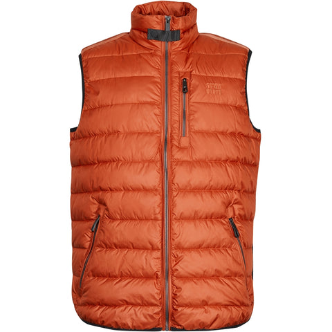 North 56°4 / Replika Jeans (Big & Tall) North 56°4 Vest Vest 0201 Terracotta/burned orange