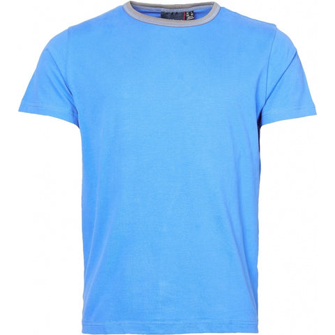 North 56°4 / Replika Jeans (Big & Tall) North 56°4  T-shirt w/contrast T-shirt 0540 Mid Blue