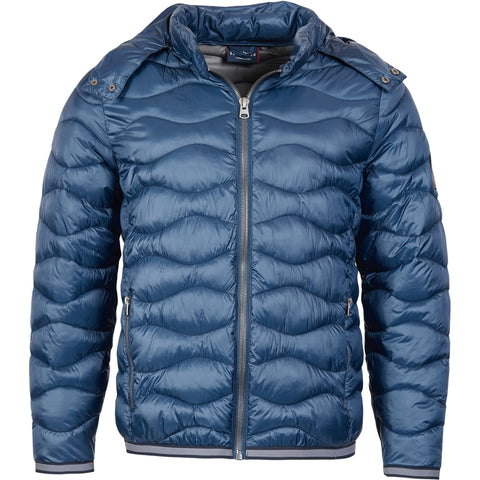 North 56°4 / Replika Jeans (Big & Tall) North 56°4 Puffer jacket w/hood Jacket 0580 Navy Blue