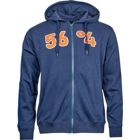 North 56°4 / Replika Jeans (Big & Tall) North 56°4 Sweat full zip w/hood Sweatshirt 0580 Navy Blue