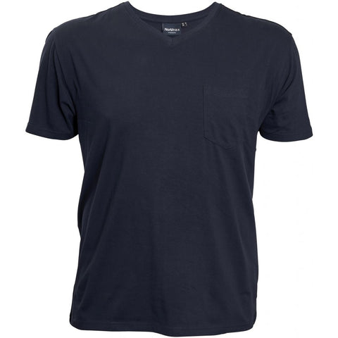North 56°4 / Replika Jeans (Big & Tall) North 56°4 T-shirt w/pocket T-shirt 0580 Navy Blue