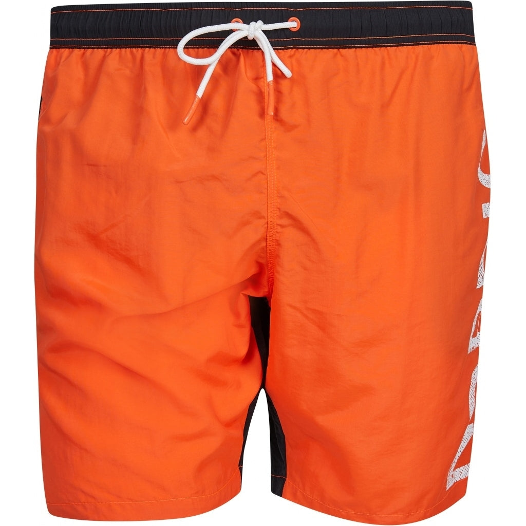North 56°4 / Replika Jeans (Big & Tall) North 56°4 Swimshorts w/print TALL Shorts 0200 Orange