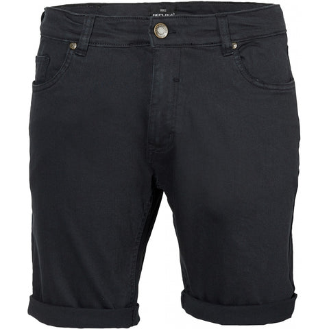 North 56°4 / Replika Jeans (Big & Tall) REPLIKA JEANS 5 pocket Shorts Shorts 0099 Black