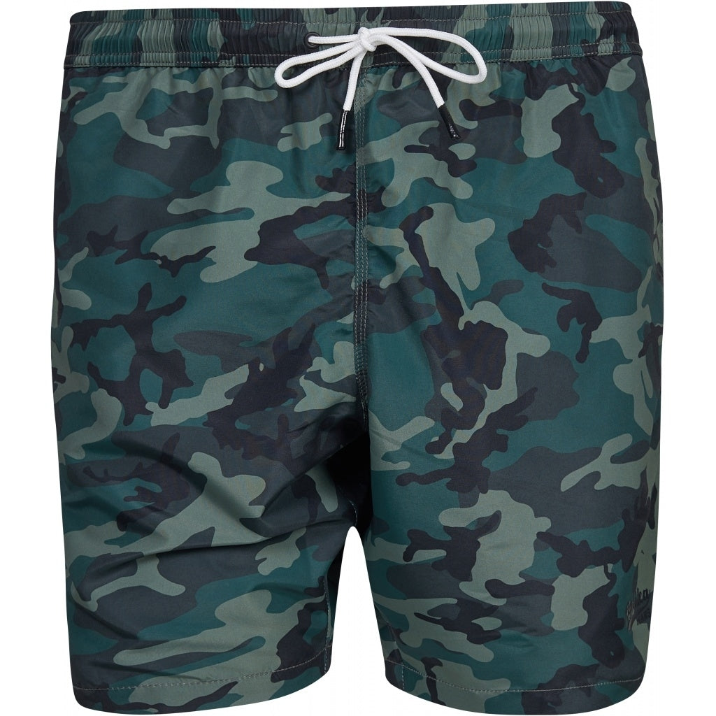 North 56°4 / Replika Jeans (Big & Tall) REPLIKA JEANS Camouflage swim shorts Shorts 0930 Printed