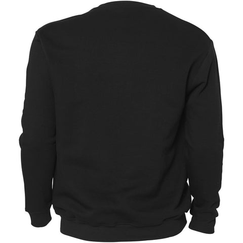 North 56°4 / Replika Jeans (Big & Tall) REPLIKA JEANS Crew-neck Sweat Sweatshirt 0099 Black