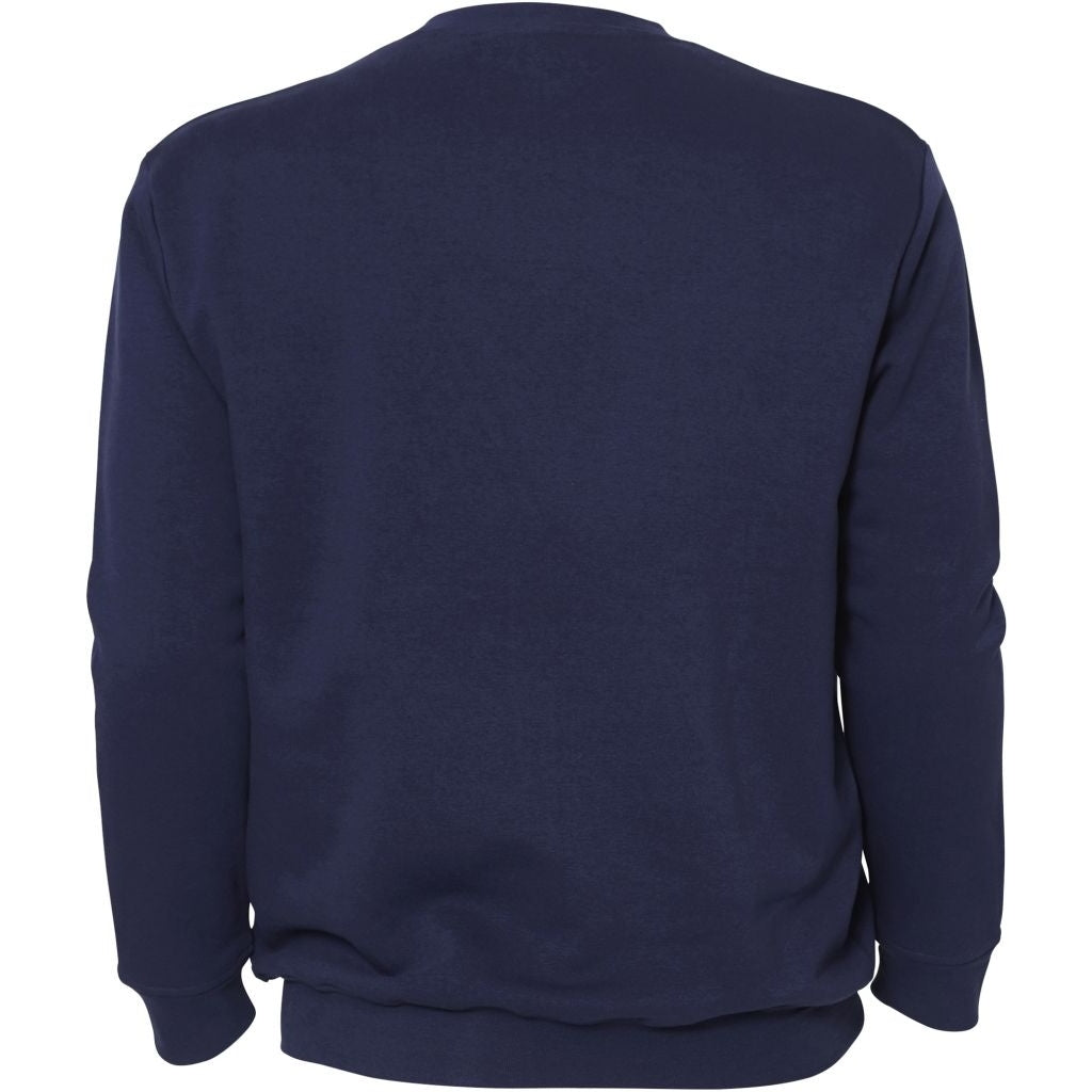 North 56°4 / Replika Jeans (Big & Tall) REPLIKA JEANS Crew-neck Sweat Sweatshirt 0589 Orient Blue