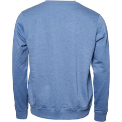 North 56°4 / Replika Jeans (Regular) REPLIKA JEANS Crew-neck Sweat Sweatshirt 0555 Blue Melange