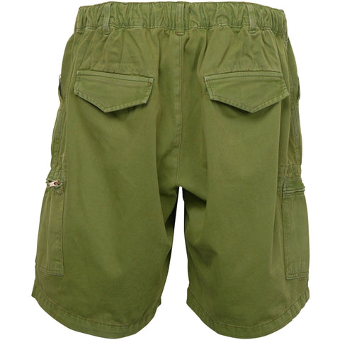 North 56°4 / Replika Jeans (Big & Tall) REPLIKA JEANS Elastic waist shorts Capri 0670 Army Green