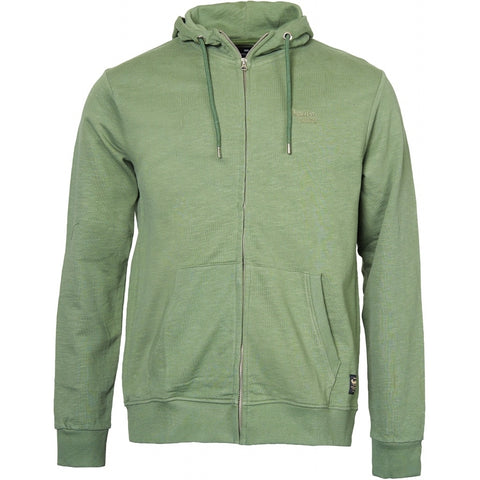 North 56°4 / Replika Jeans (Big & Tall) REPLIKA JEANS Hooded full zip sweatshirt Sweatshirt 0660 Olive Green